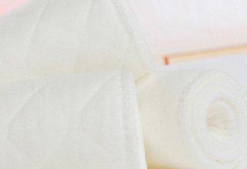 Wodoodporne pieluszki: recenzje producentów