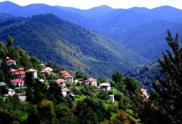 Montagnes en Bulgarie: un nom et photo