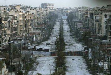 Com quem as fronteiras da Síria? Características da posição geográfica do país