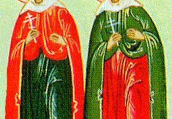 onomástico vasilisa en el calendario de la iglesia