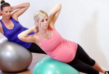Esercizio su fitball per le donne in stato di gravidanza: indicazioni e controindicazioni. Fitball per le donne incinte su trimestre