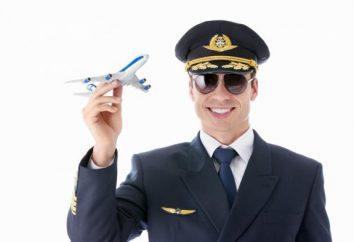 szkolenia pilotów lotnictwa cywilnego, zwłaszcza zawód i obowiązki