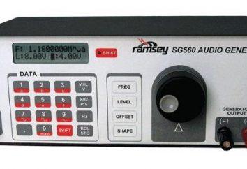Generator częstotliwości dźwięku i jego zakres