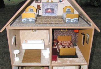 Powiedz nam, jak zrobić dom dla Barbie. Ręce zrobi doskonałą zabawkę dla dziecka