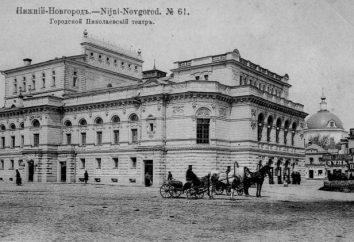 Teatru Dramatycznego (Niżny Nowogród): historia, repertuar