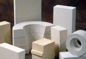 Schamottestein: Eigenschaften, Größe, Art. Schamottestein für Ofen