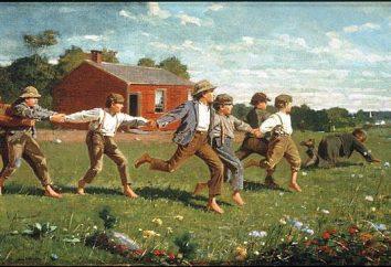 Romantyczny i realistyczny obraz z 19 wieku