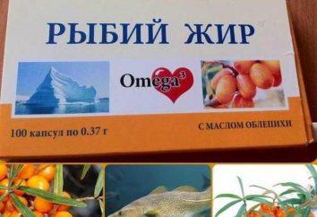 """BAD huile de poisson """"Mirrolla"""": l'instruction et de la composition"""