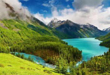 Kucherla jezioro – widok Ałtaju