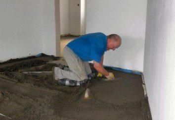 Jak wylać podłogi w prawym mieszkania?