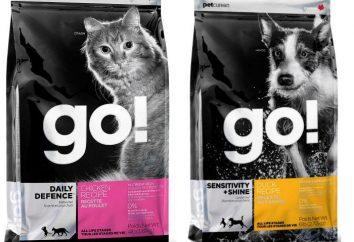 GO – karmy dla psów i kotów: opis i cechy