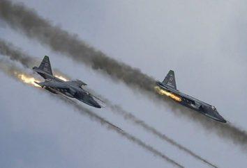 Avião de ataque de aeronave SU-25: características técnicas, dimensões, descrição. História da criação