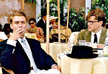"""Actores """"El talentoso Sr. Ripley"""", la trama de la película, la tripulación"""