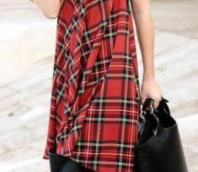 Sukienka na czerwonym komórce: jak podnieść i co nosić nowość trendu