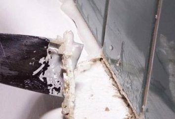 Wie die Lücke zwischen der Wanne und der Wand zu versiegeln? Verschiedene Möglichkeiten, um Probleme zu lösen