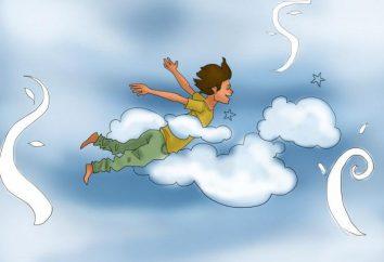 Sen Interpretacja: marzenie latać nad ziemię. Dlaczego sen o lataniu?