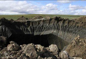 Yamal crater: características, causas de, secretos