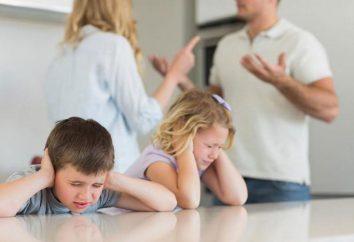 Umowa dzieci w rozwodzie: próbka. Umowa w rozwodzie dzieci
