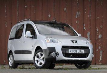 Une nouvelle génération de véhicules « Peugeot Partner »: spécifications et non seulement