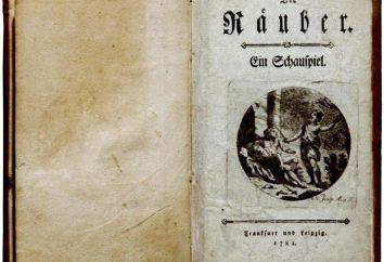 Friedrich Schiller « Les Brigands »: Résumé des travaux