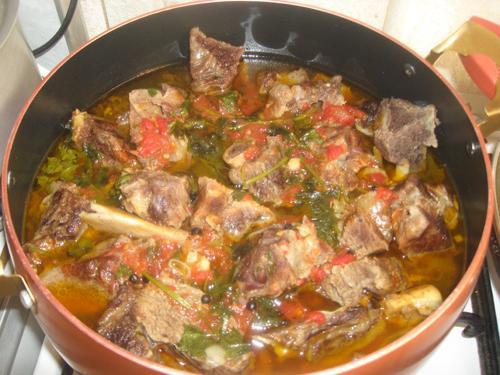 Wie Kochen Khashlama? Armenisch Khashlama - Rezepte, Fotos
