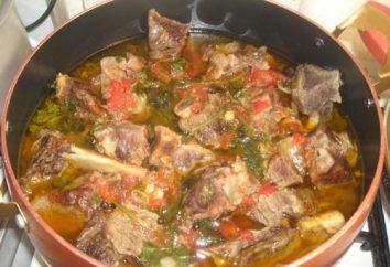 Come cucinare Khashlama? Armena khashlama – ricette, foto