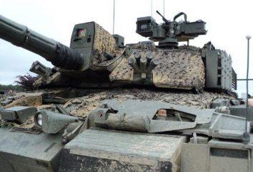 Zbroja jest jednorodna w nowoczesnych czołgach: siła, rycerskość