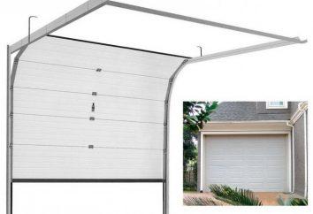 Levage portes pour le garage et leurs variétés