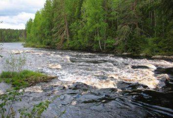 Shui – un fiume in Carelia. Descrizione, foto in lega