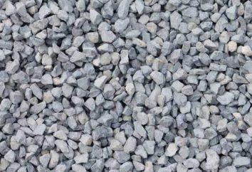 A densidade de entulho – cascalho, granito, calcário e escória. Densidade da massa de brita: um coeficiente e definição GOST