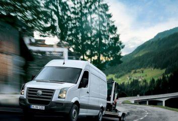 """""""Volkswagen Crafter"""" – un gran camión para actividades comerciales"""