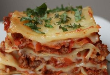 Come facilmente e rapidamente cucinare le lasagne a casa?