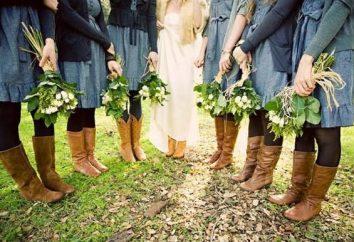 Denim Hochzeit: eine neue Idee für die Zeremonie