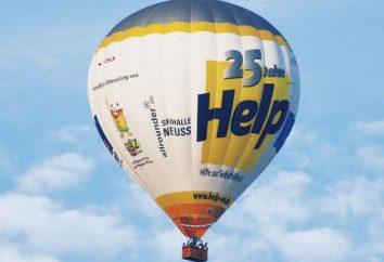 Balon z koszem własnych rąk: instrukcjami i schematami. Koszt balonu