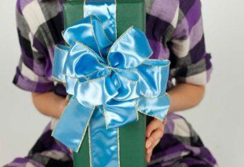 Com'è bello papillon per un regalo per una ragazza