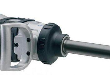 Druckluftschrauber: Bewertungen, Spezifikationen. Vorrichtung pneumatischen Schraubers