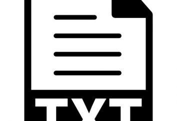 Rozszerzenie pliku tekstowego: rodzaje i główne aspekty definicji przynależności do programu