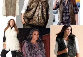 Come e cosa indossare gilet di pelliccia