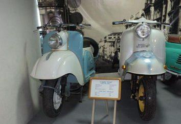 """Scooter """"Tulitsa"""" – el antepasado de un scooter"""