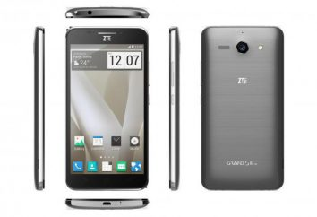 Smartfon ZTE Wielki S2: specyfikacje, opinie, zdjęcia