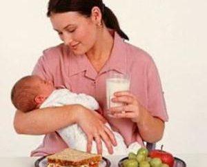 Atteignez l'allaitement maternel. Lure par mois – table