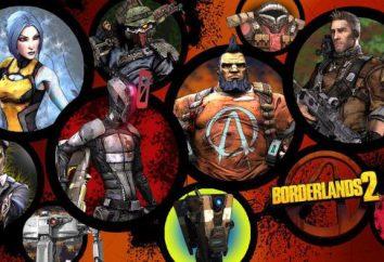 jogo de computador Borderland 2: personagens, especialmente a transmissão e comentários