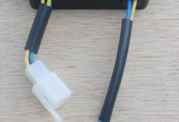 Régulateur de relais de la tension du générateur: circuit, principe de fonctionnement