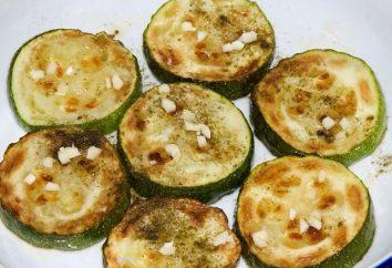 Cómo freír el calabacín con ajo, dos variantes diferentes de la preparación