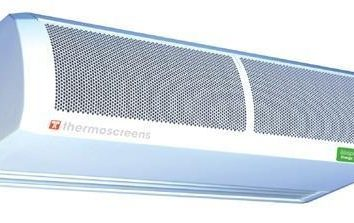 cortina d'aria elettrico: suggerimenti su come scegliere e recensioni. I principali svantaggi di tende elettriche