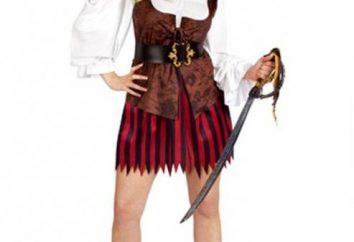 Wie man ein Piratenkostüm mit eigenen Händen machen?