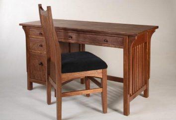 Wymiary biurka dla studenta. Standardy i rysunki