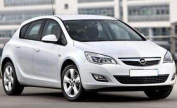 Opel Astra – tamaño de la familia coche