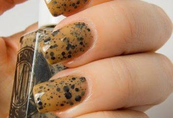En búsqueda de la moda: el esmalte de uñas con el efecto de huevos de codorniz