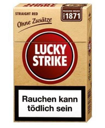 Cigarrillos Lucky Strike: puntos de vista y opiniones